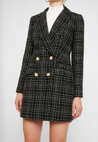 Forever New - LAUREN BOUCLE - Abrigo corto - black - 3