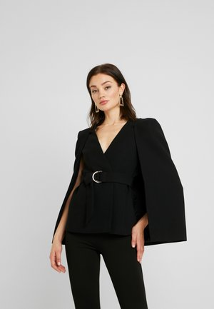 HELENAD RING - Poncho - black