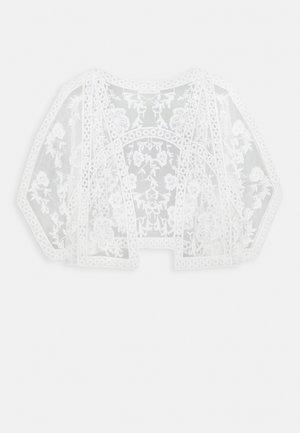 KACEY SHORT KIMONO - Bleiseri - white