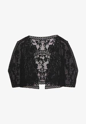 KACEY SHORT KIMONO - Blazer - black
