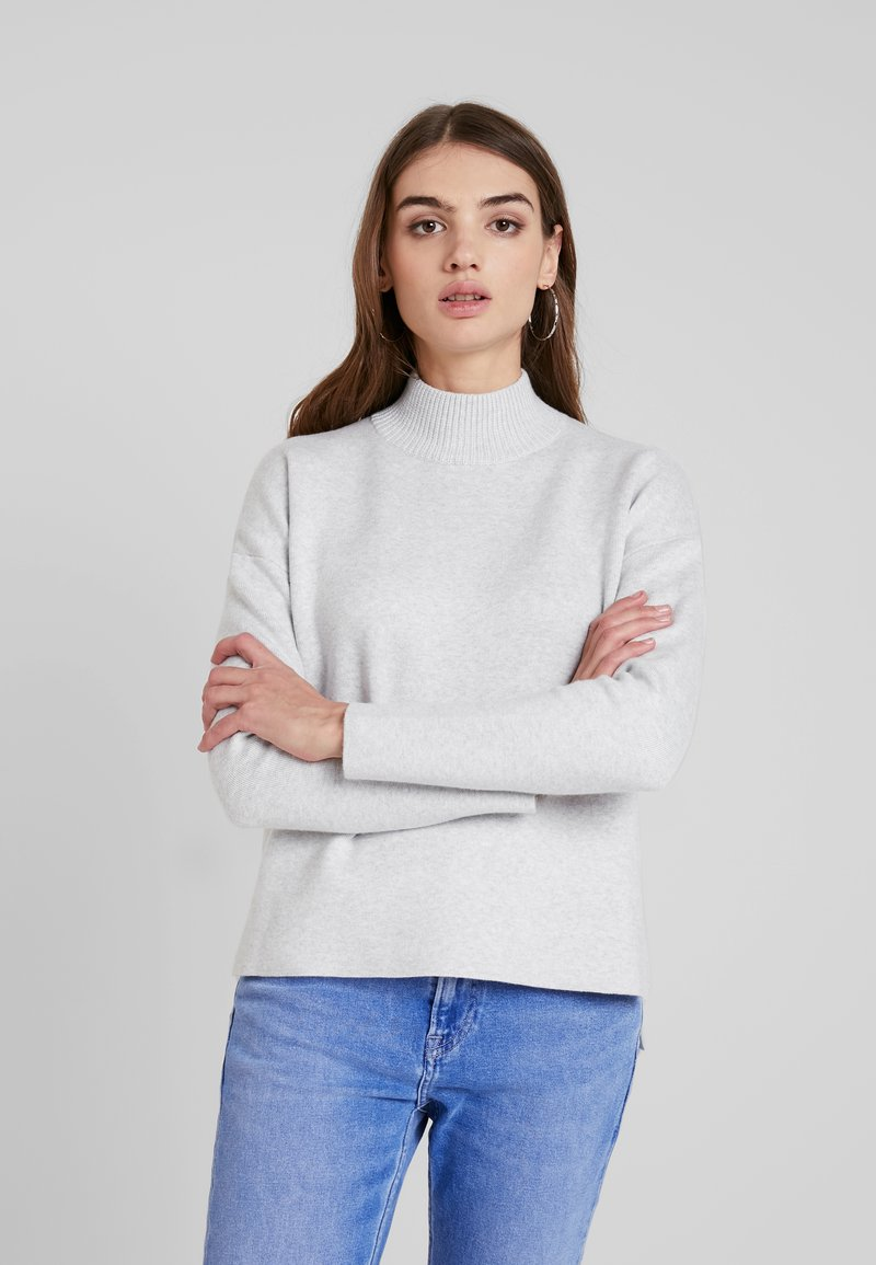 Forever New - ARIA BOXU JUMPER - Strickpullover - iced grey