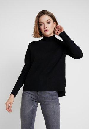ARIA BOXU JUMPER - Stickad tröja - black