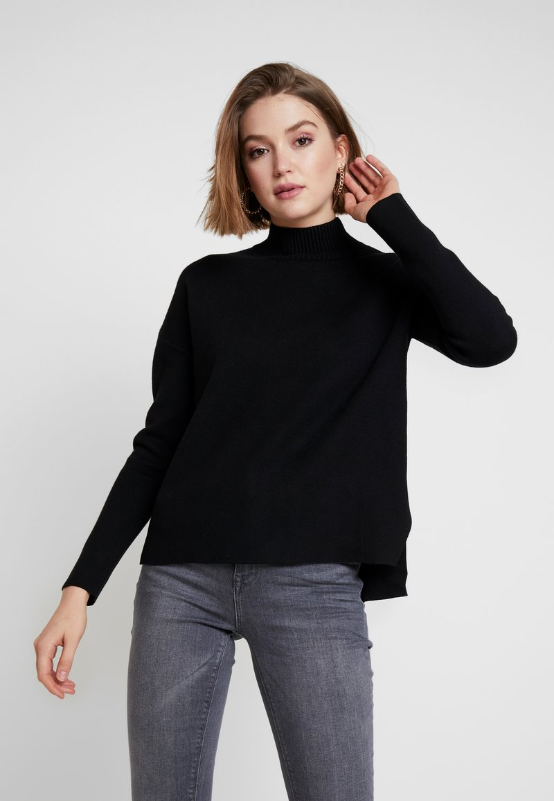 Forever New - ARIA BOXU JUMPER - Strickpullover - black