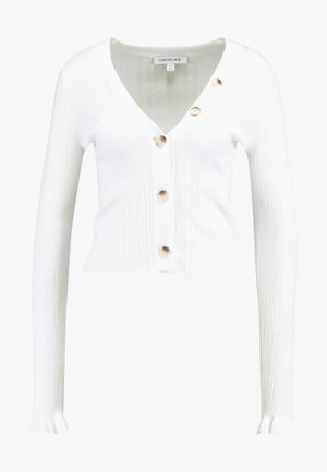 JESSIE BUTTON UP CARDIGAN - Cardigan - porcelain