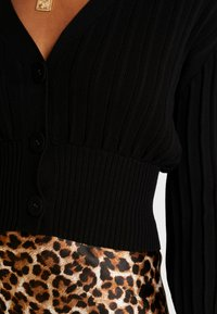 Forever New - MOLLY PLEAT CARDIGAN - Vest - black - 4
