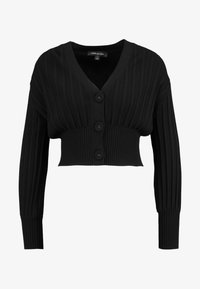 Forever New - MOLLY PLEAT CARDIGAN - Vest - black - 3