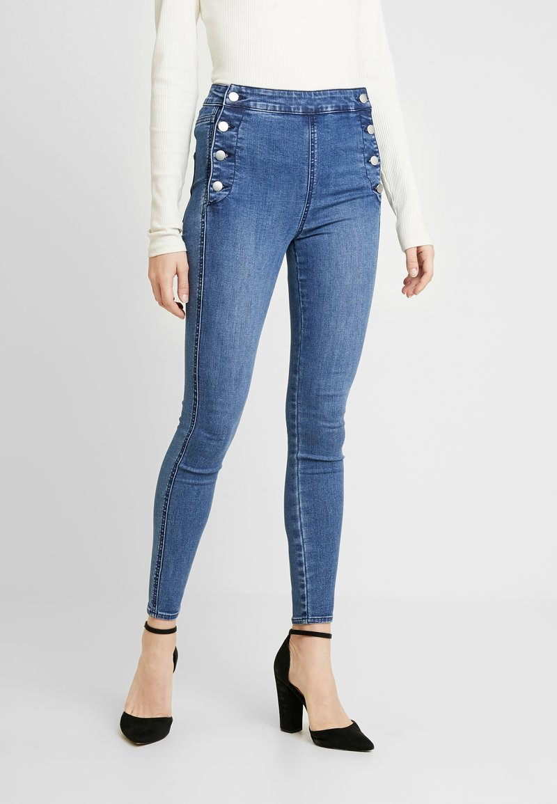 Forever New - HEIDI HIGH RISE - Jeans Skinny Fit - blue