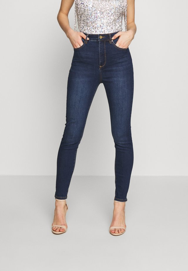 BELLA HIGH RISE SCULPTING - Jeans Skinny Fit - havana blue