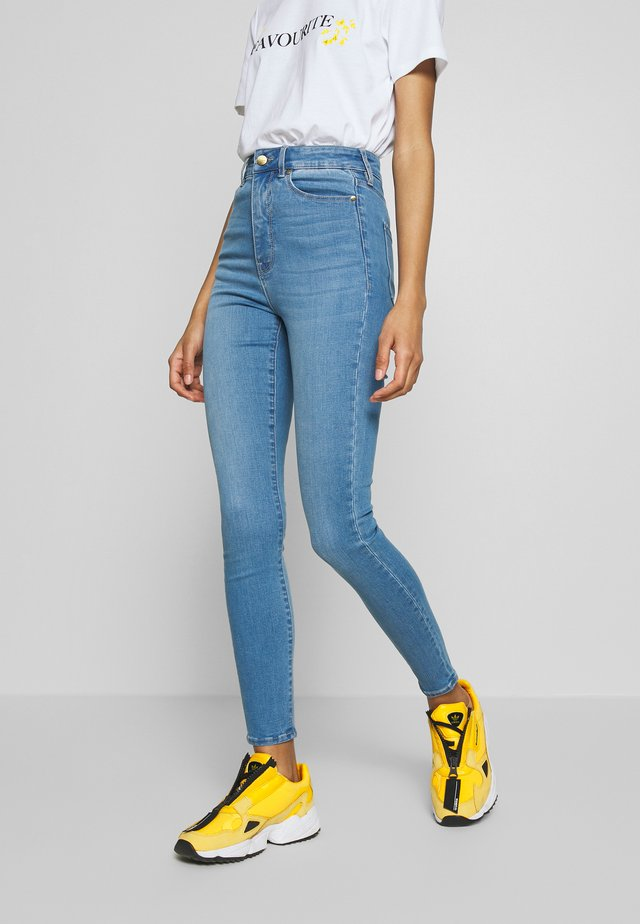 BELLA HIGH RISE SCULPTING - Jeans Skinny Fit - bahamas blue