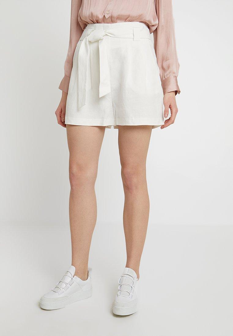 Forever New - MELANIE TIE WAIST - Shorts - porcelain