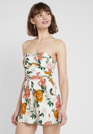 SORRENTO STRAPLESS PLAYSUIT - Jumpsuit - multi-coloured