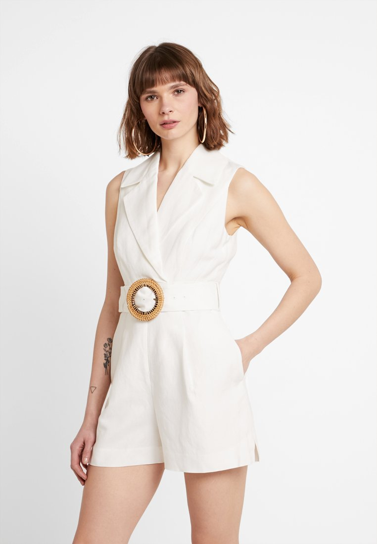 Forever New - BELTED PLAYSUIT - Haalari - porcelain