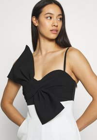 Forever New - BOW BODICE - Mono - black/white - 3