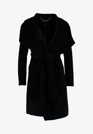 MEGAN FELLED SEAM - Abrigo - black