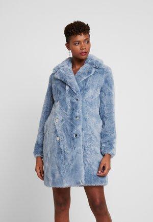 ELIZABETH LONGLINE COAT - Zimní kabát - blue mist