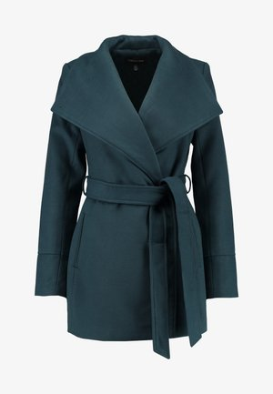 TALA WRAP - Krátký kabát - emerald teal