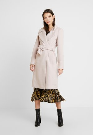 BELLA WRAP COAT - Villakangastakki - soft pink