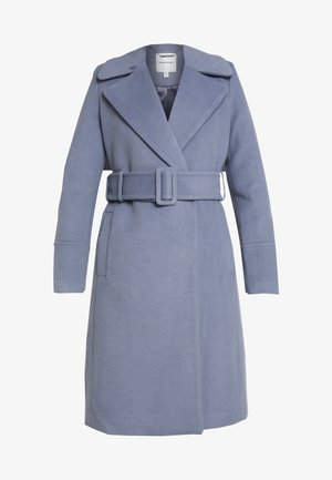 BELLA WRAP COAT - Mantel - denim bluie