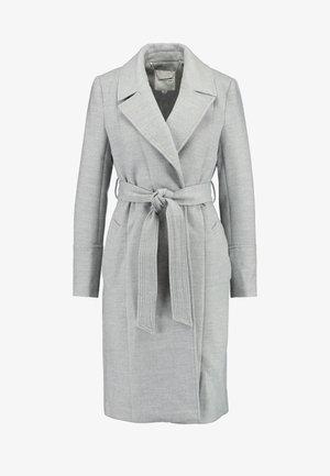 LUNA WRAP COAT - Zimní kabát - grey