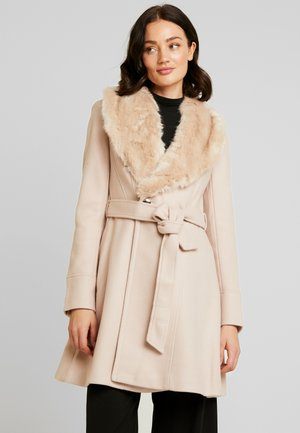 EMILIA SKIRT COAT - Abrigo - oatmeal