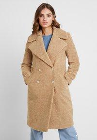 Forever New - CARA LONG LINE BORG - Classic coat - caramel - 0