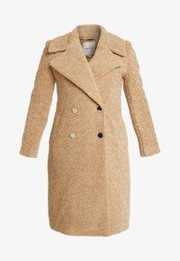 Forever New - CARA LONG LINE BORG - Classic coat - caramel - 4