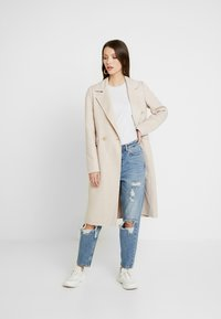 Forever New - PHILLIPA FELLED SEAM COAT - Classic coat - oatmeal - 1
