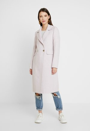 PHILLIPA FELLED SEAM COAT - Villakangastakki - lilac