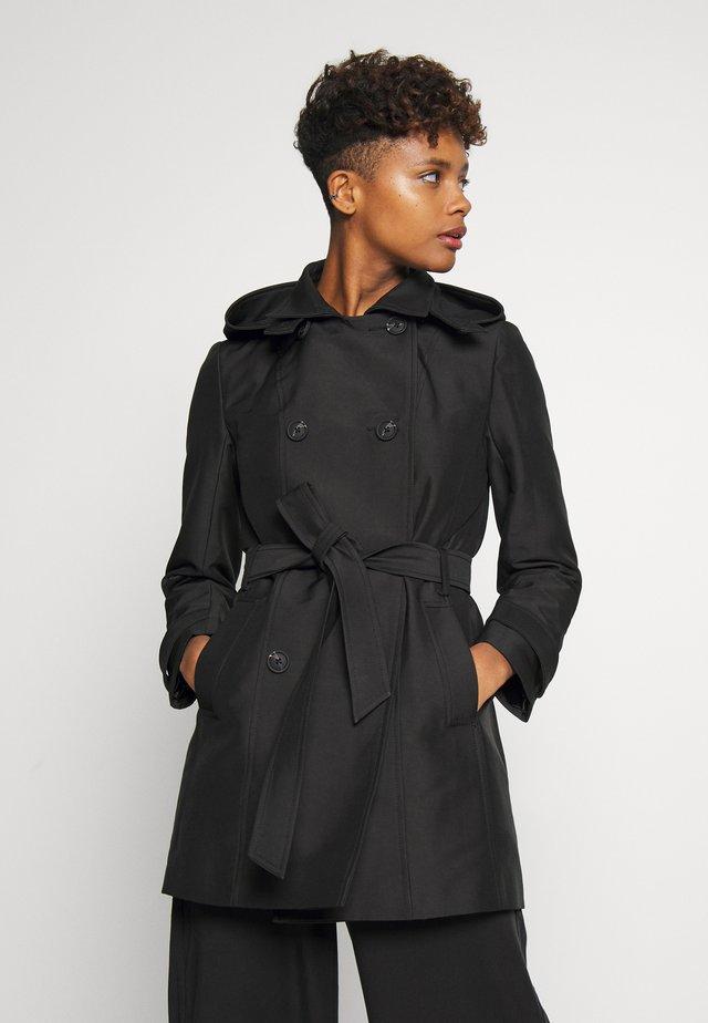 SARA - Trenchcoat - black