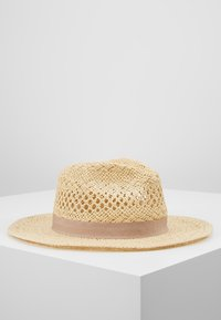 Forever New - CARA CUT OUT FEDORA HAT - Klobouk - natural/taupe - 0