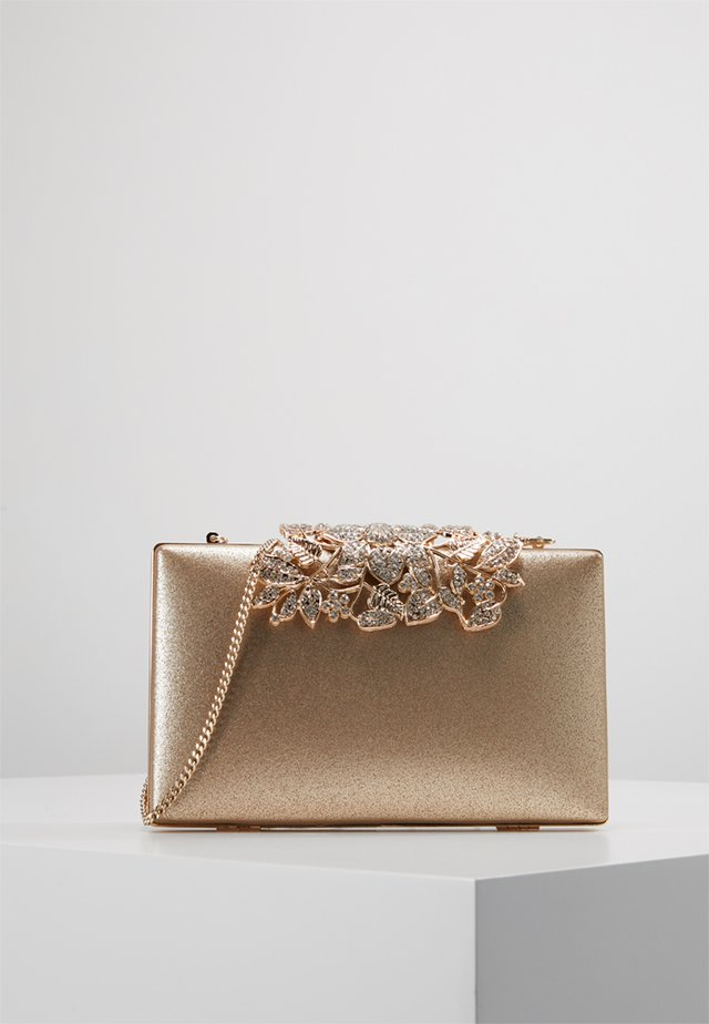 CHARLOTTE EMBELLISHED - Clutches - gold shimmer