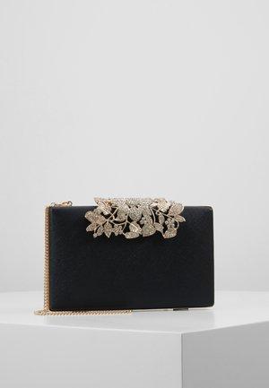 CHARLOTTE EMBELLISHED - Pochette - black/gold