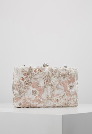 LOLA EMBROIDERED BEADED - Pochette - pink