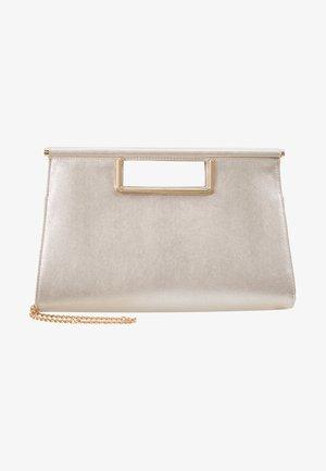 Handbag - white shimmer