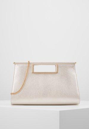 Handtas - white shimmer