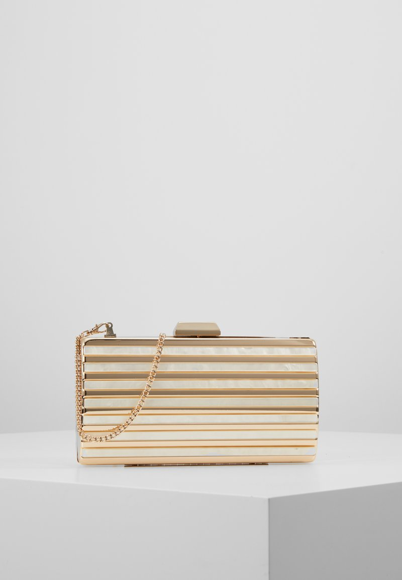 Forever New - MACY PANEL HARDCASE - Clutch - gold