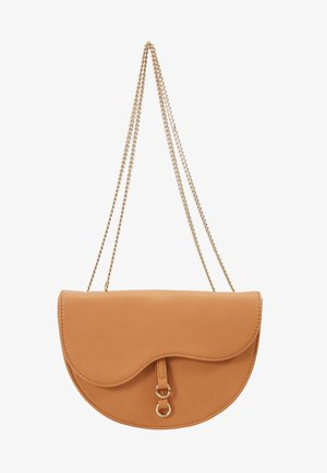AVA CROSSBODY BAG - Across body bag - tan