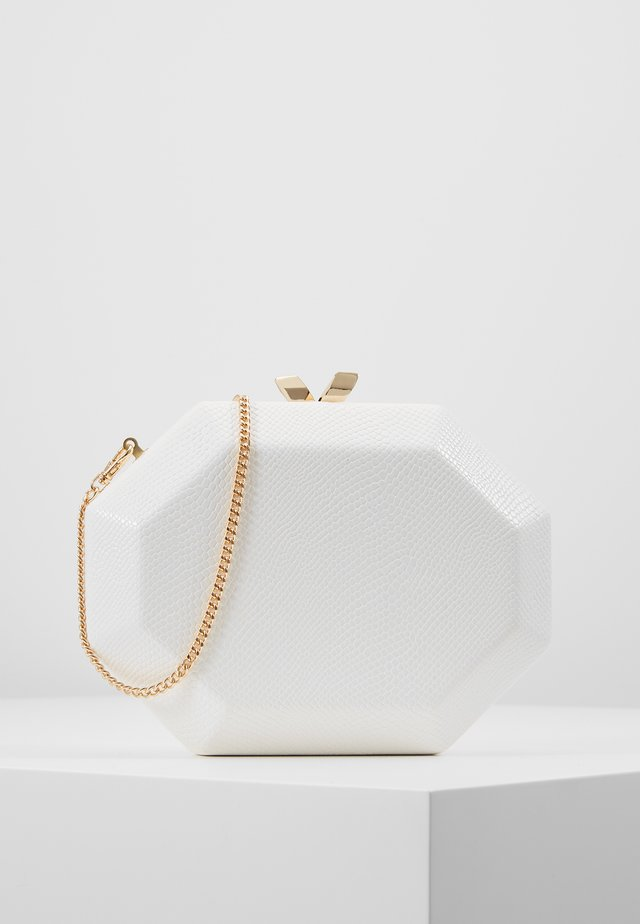 JEWEL HARDCASE - Clutch - ivory
