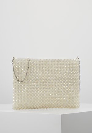 ALLY BEADED - Pochette - irridescent white