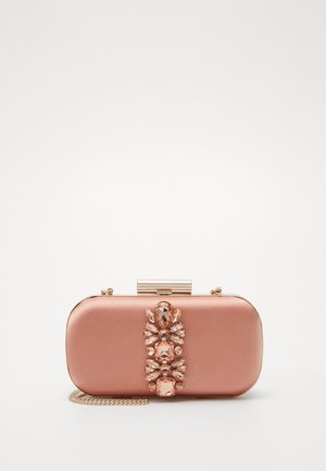 ELIZABETH JEWELLED HARDCASE - Clutches - blush/copper