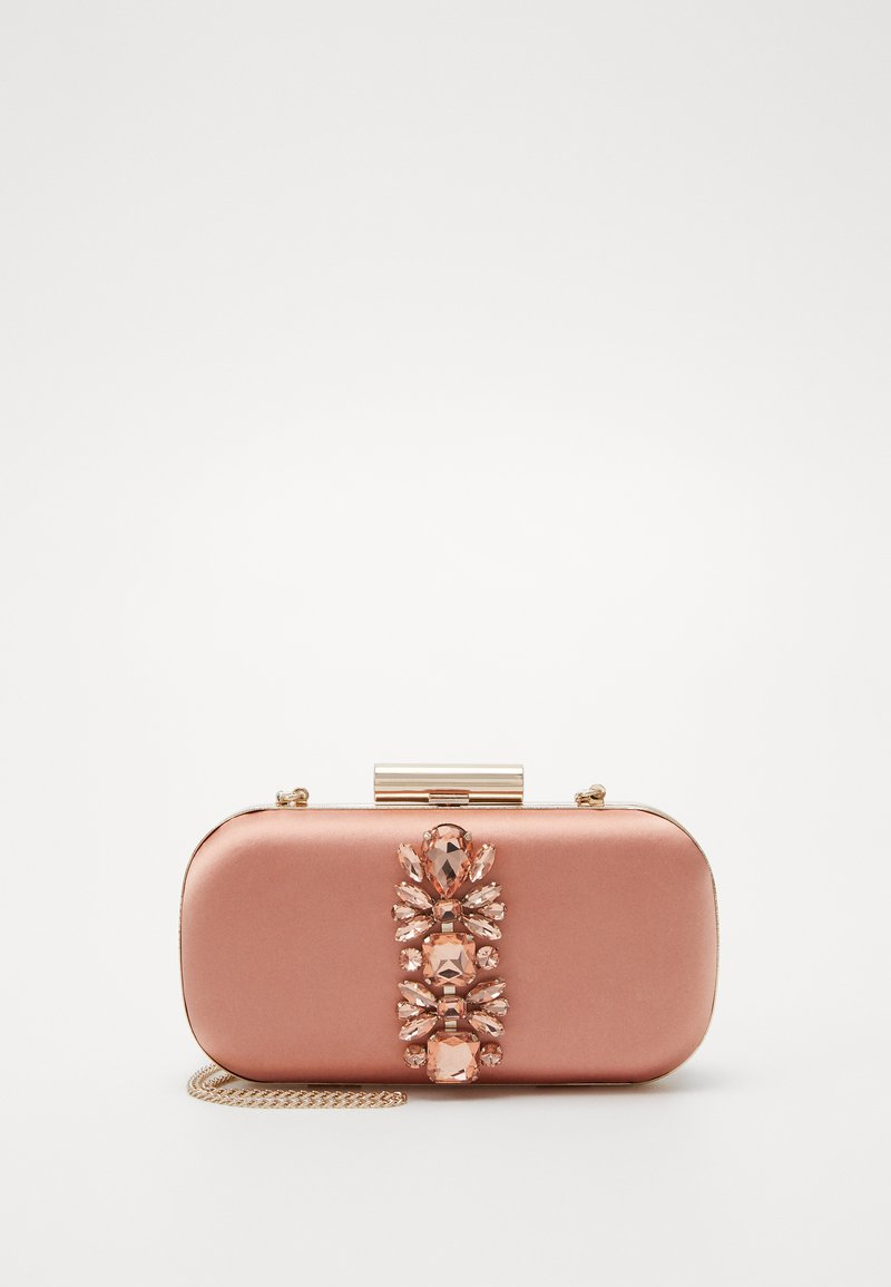 Forever New - ELIZABETH JEWELLED HARDCASE - Clutch - blush/copper