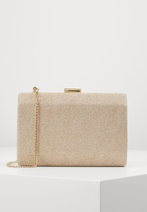 KARA GEO CLUTCH - Clutch - soft gold