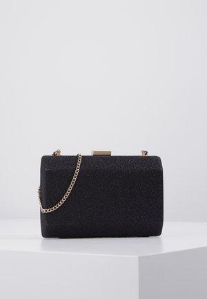 KARA GEO CLUTCH - Pochette - black
