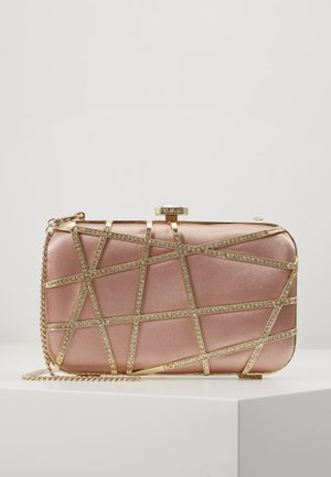 STELLA JEWELLED - Clutch - blush