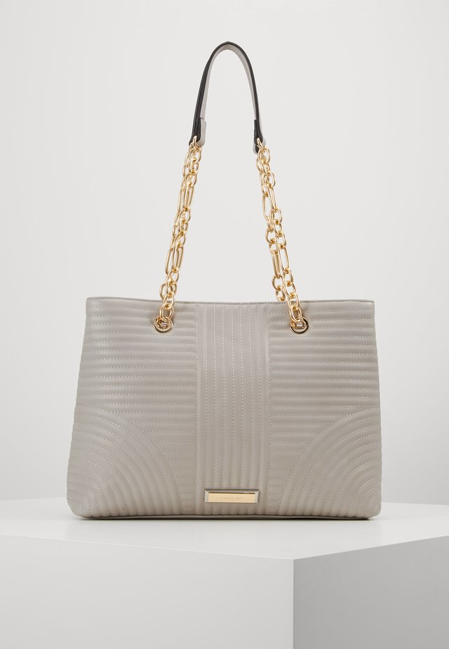 CLARISSA CHAIN TOTE - Handbag - grey