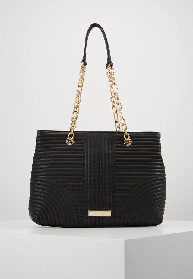 CLARISSA CHAIN TOTE - Handtasche - black