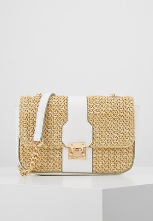 PARIS CROSSBODY - Olkalaukku - nude