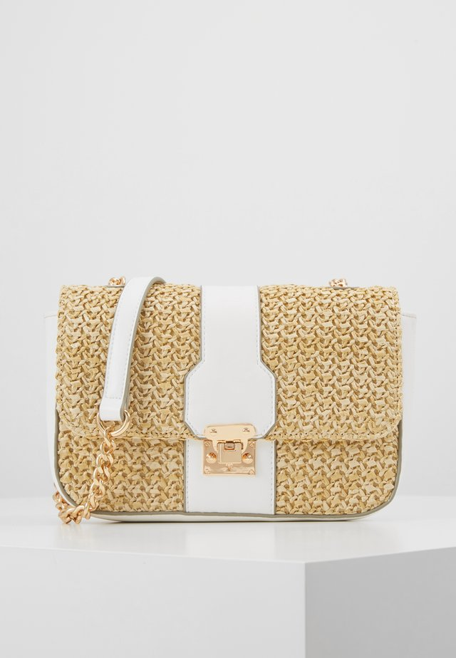 PARIS CROSSBODY - Schoudertas - nude