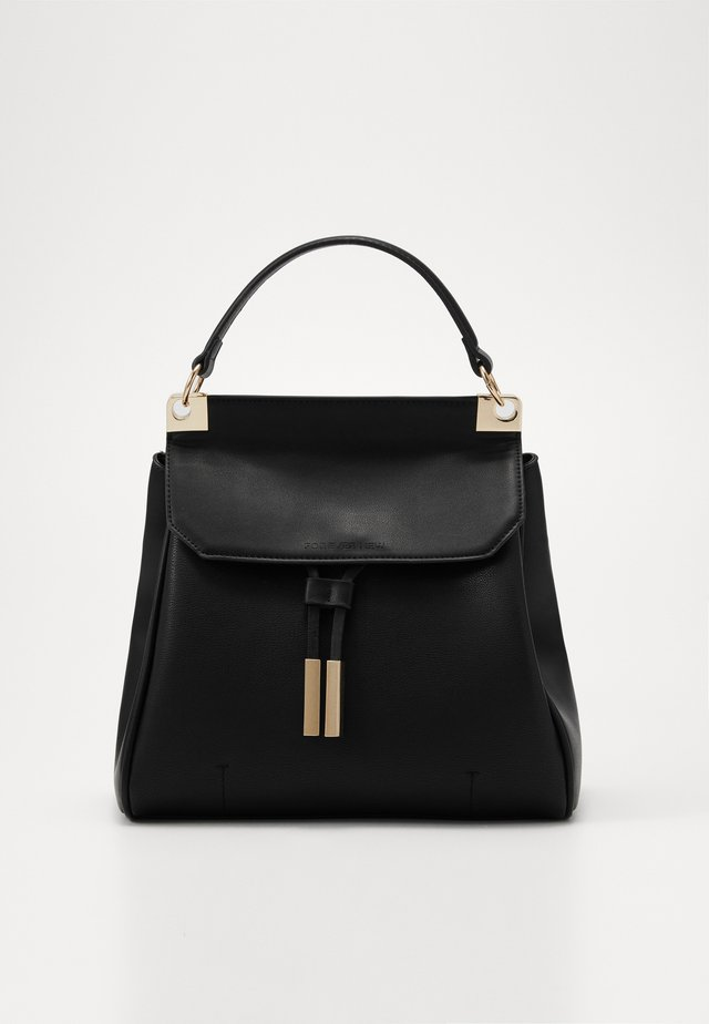 JASMINE PINCHED BACKPACK - Sac à dos - black