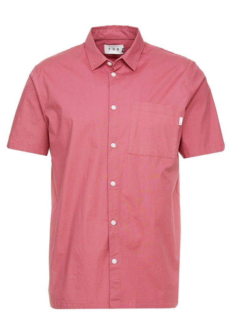 FoR - TORPA POPOVER POPLIN SHIRT - Skjorter - pink